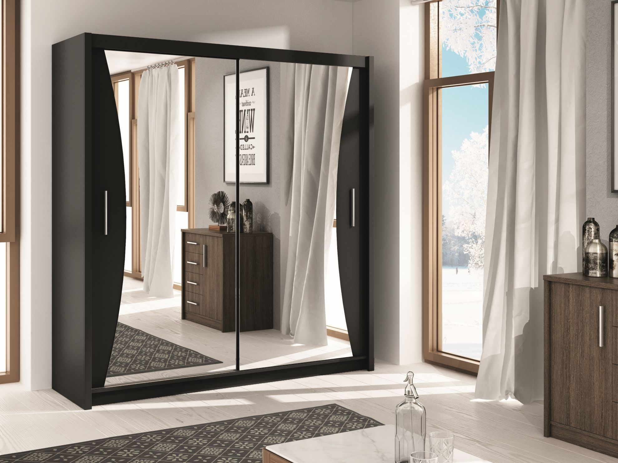 Uxbridge Storage Armoire With Mirror Wardrobes Pinterest