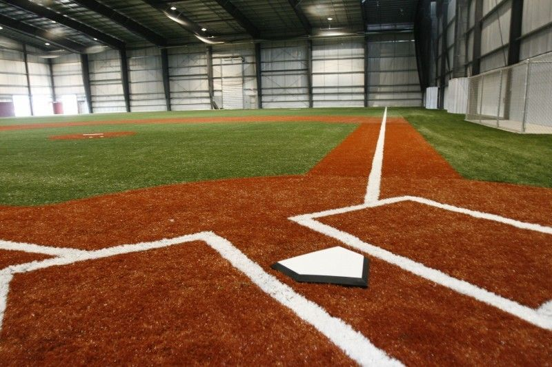 Image Gallery Indoor Baseball Field Indoor Batting Cage Batting Cages Sports Training Facility