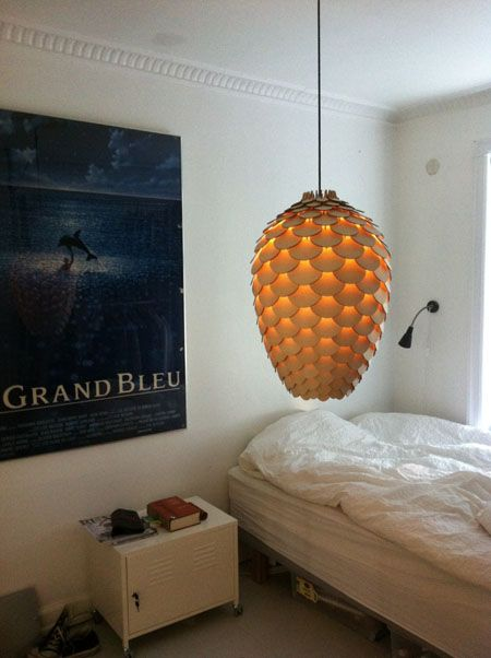 Amazing Unique And Beautiful Pendant Lamp In Pinecone Shape U2013 Pinecone Pendant Lamp Nice Ideas