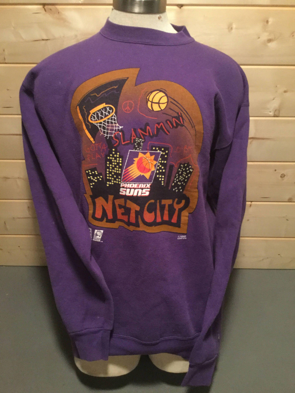 Vintage 1990's Phoenix Suns Logo 7 50/50 Sweatshirt by