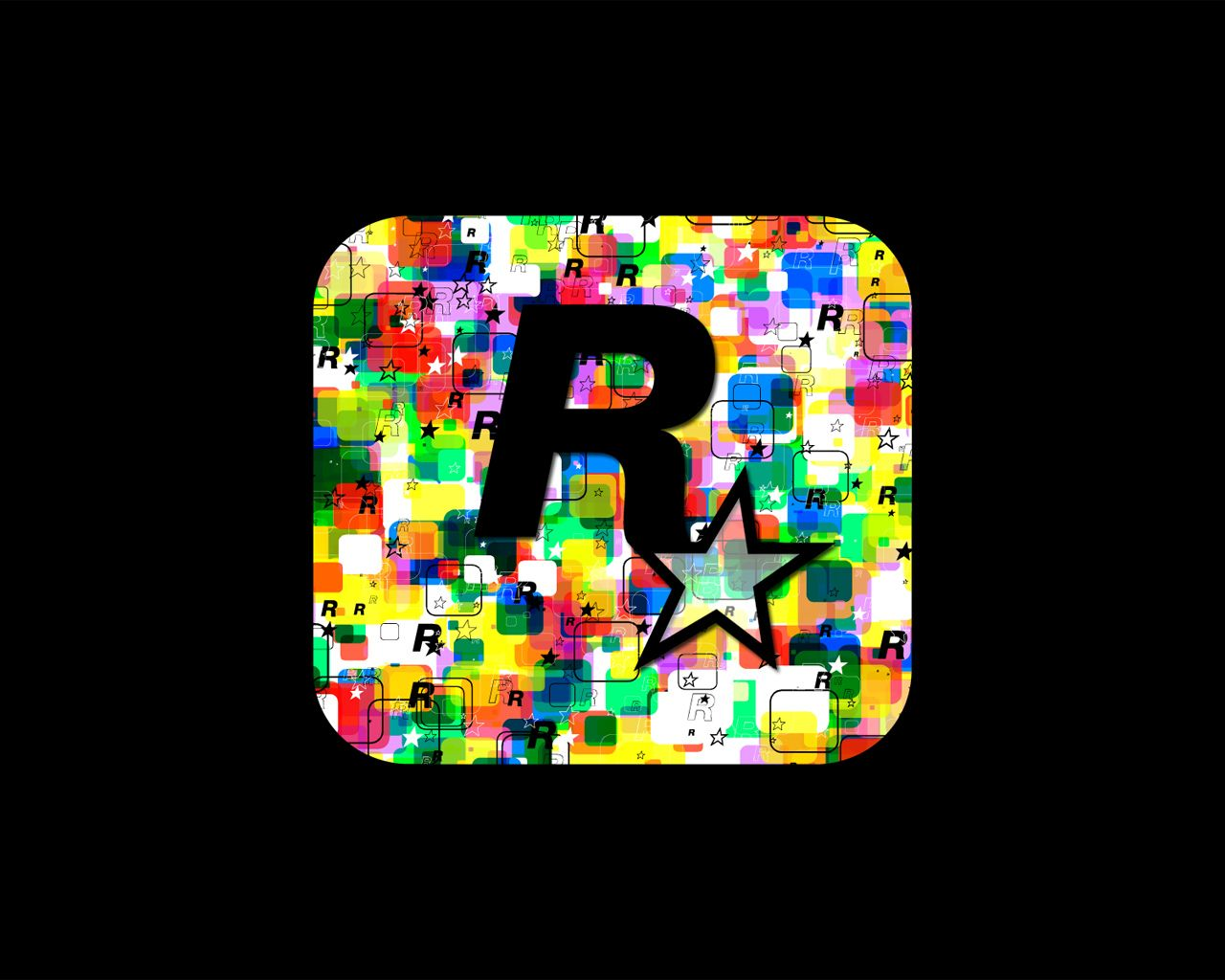 download our epic gaming wallpapers rockstar logo