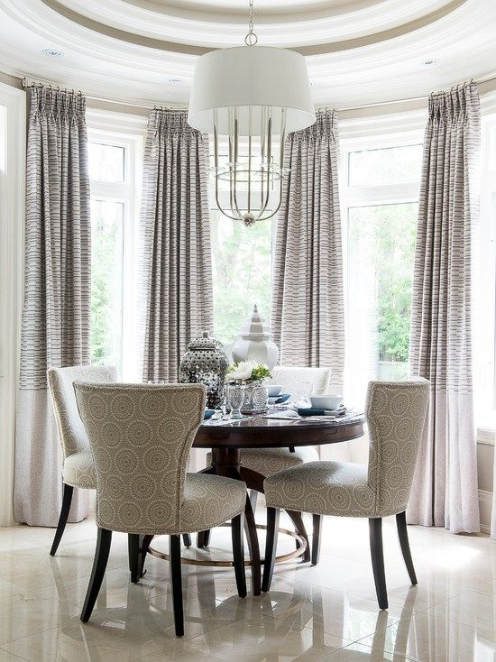 Breakfast Nook Chairs with no Patterns NoCurtains Maybe Light