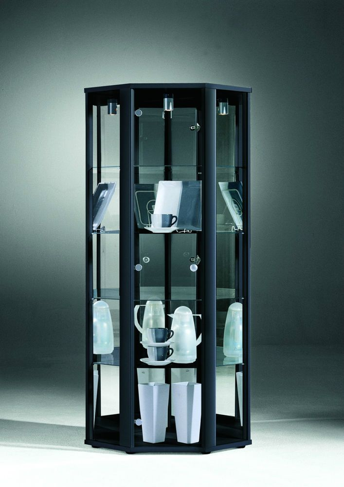 Glass Display Cabinets Single Double Corner Collection Only Glass Display Unit Glass Cabinets Display Living Room Glass Cabinet