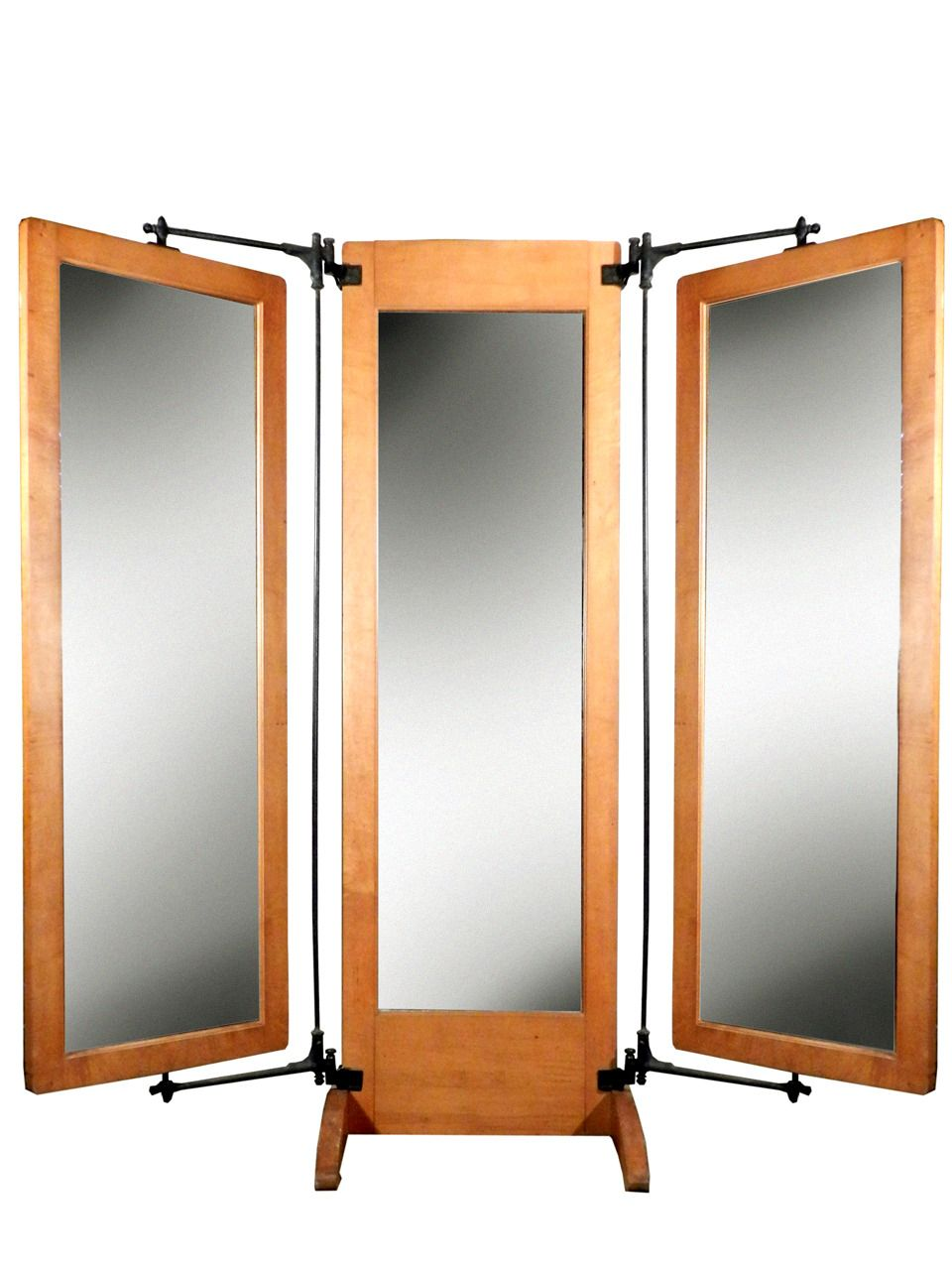 1930 tailors triple dressing mirror mirror dressing mirror mirror floor mirror. Black Bedroom Furniture Sets. Home Design Ideas