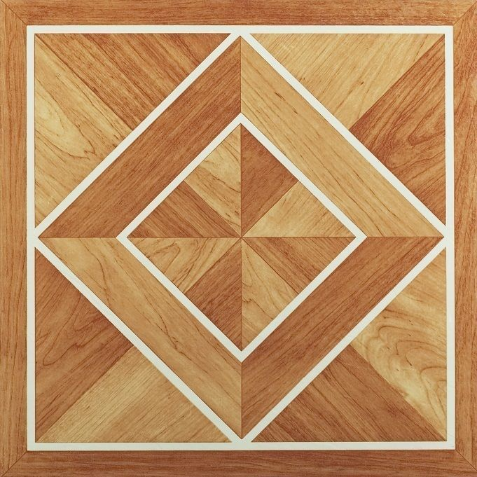 Achim Nexus White Border Classic Inlaid Parquet 12x12 Self Adhesive Vinyl Floor Tile 20 Tiles 20 Sq Ft Vinyl Wood Flooring Luxury Vinyl Tile Vinyl Plank Flooring