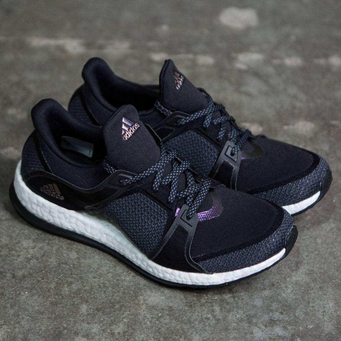 sale retailer 4fd3a a66db Adidas Women Pure Boost X Training black onix footwear white