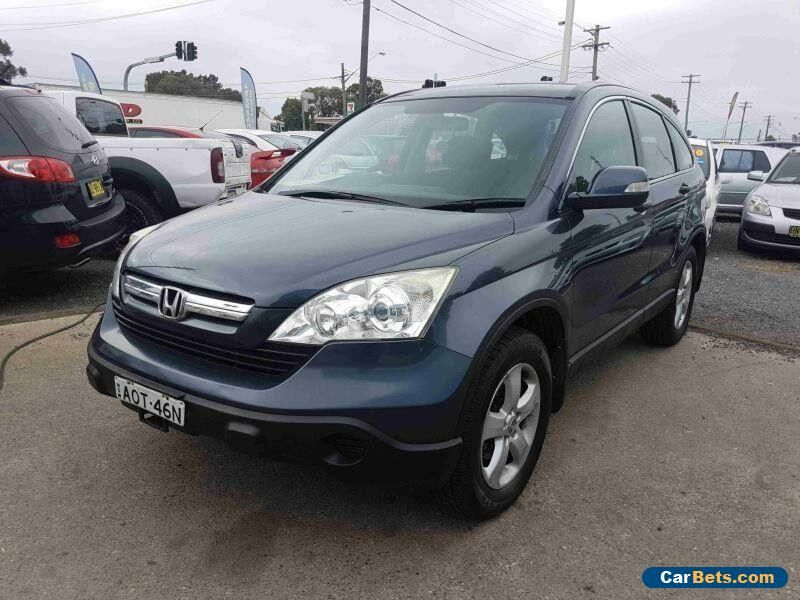 2007 Honda CRV 2005 Upgrade (4x4) Blue Automatic 5sp A