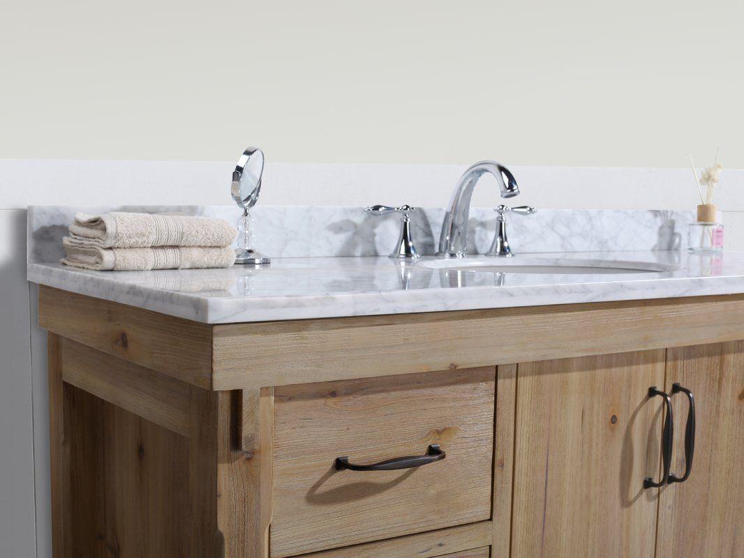 Kordell 55 Single Bathroom Vanity Set Single Bathroom Vanity Vanity Set Bathroom Vanity [ 800 x 1066 Pixel ]