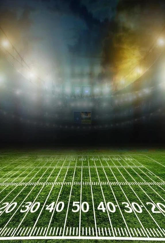 Green Lawn Football Field Gym Lights Blurry Backdrops G 301 Grass Backdrops Fields Photography Green Backdrops