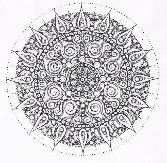 coloring pages : Coloring Book Online Mandala Awesome 25 Pretty Of ... | 641x658