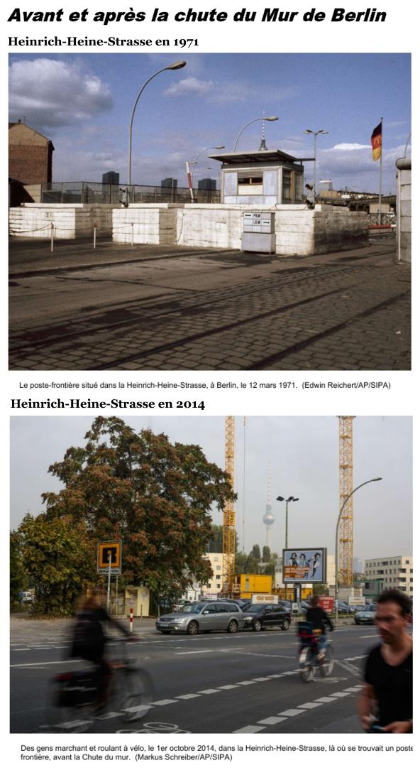 Avant et après la chute du Mur de Berlin #murdeberlin Avant et après la chute du Mur de Berlin #murdeberlin Avant et après la chute du Mur de Berlin #murdeberlin Avant et après la chute du Mur de Berlin #murdeberlin