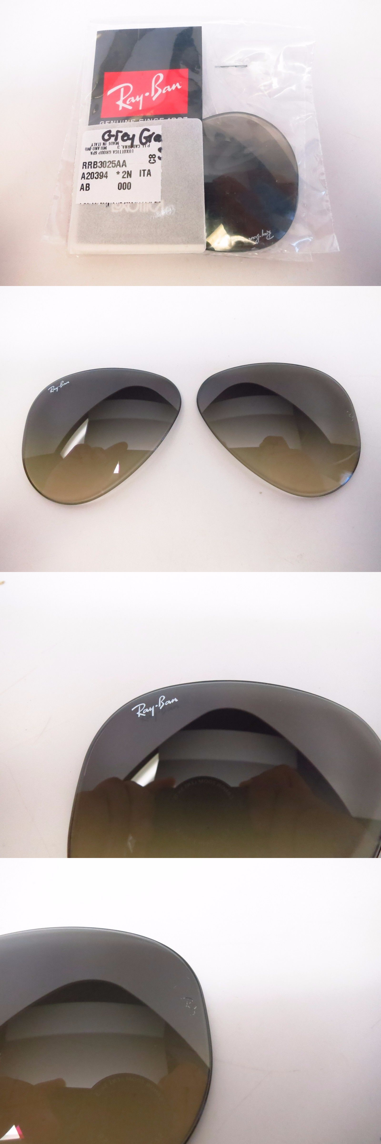 1e0b3b9207 Sunglass Lens Replacements 179195: Ray-Ban Rb 3025 Aviator Grey Gradient  Sunglass Replacement Lenses 58Mm -> BUY IT NOW ONLY: $40 on eBay!
