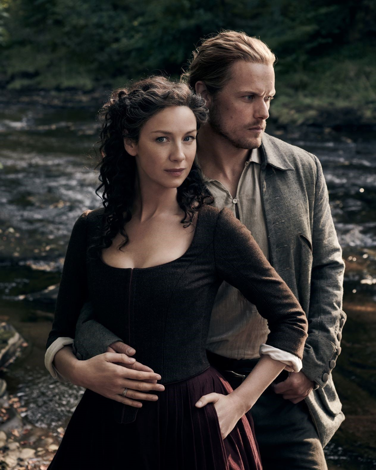 Outlander Cast Members Sam Heughan And Caitriona Balfe On The Passion In Season 5 In 2020 Sam Heughan Outlander Wedding Outlander Casting