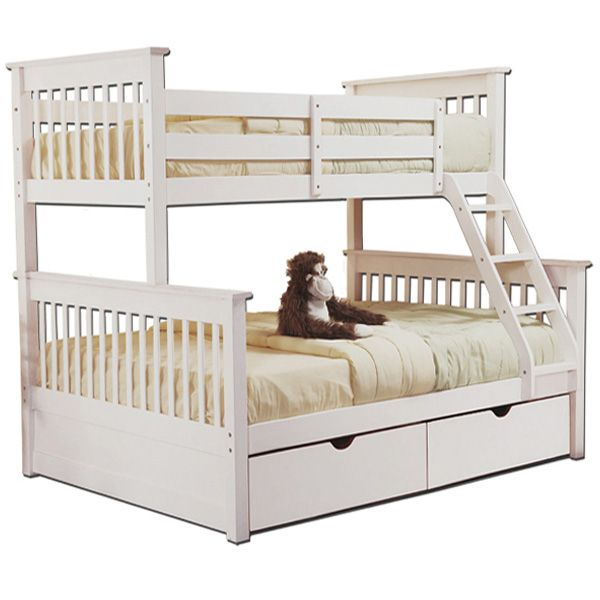 Converts To One Twin Single And Full Double Size Bed