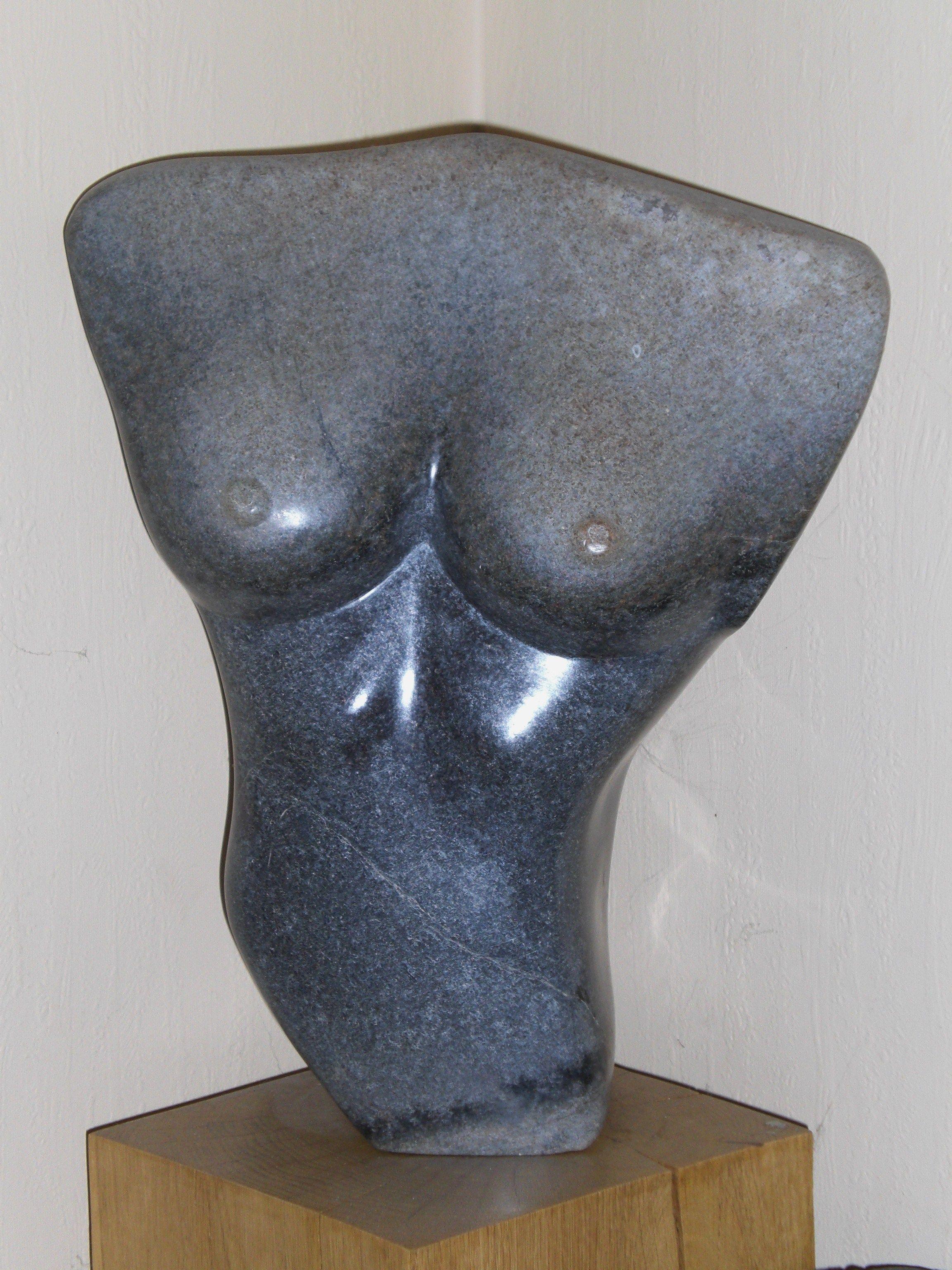 Torso  /  serpentijn  /  beeldhouwer Jantsje Bron