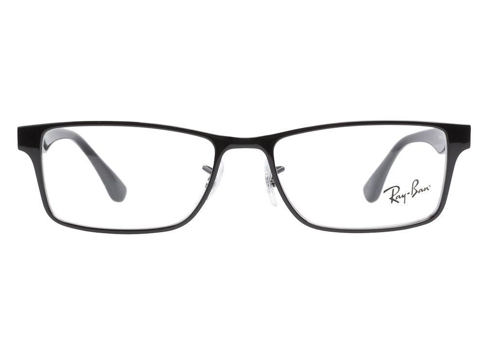7ecace5c26074 Ray-Ban RB6238 2509 Shiny Black eyeglasses are the perfect combination of  modern and classic