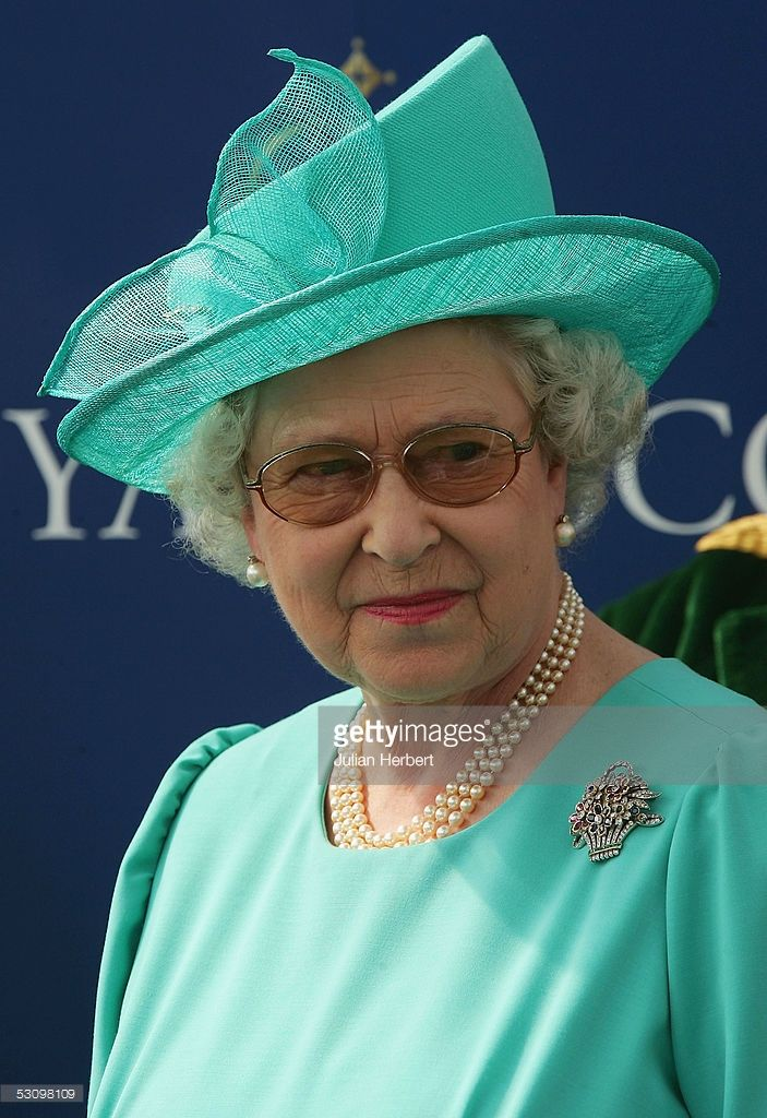HM Queen Elizabeth II is seen at the presentation of The Golden Jubilee Stakes…