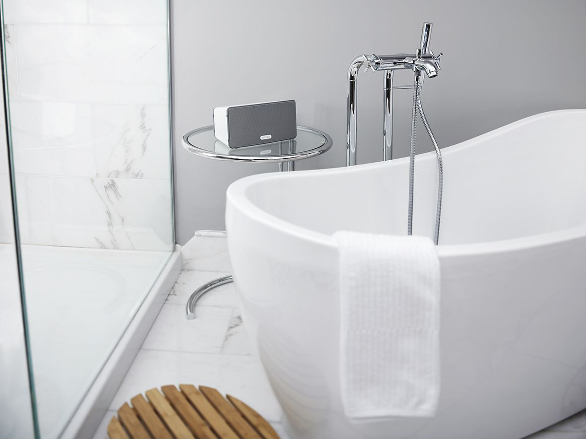 sonos play:3 - bathroom #placeyourmusic | sonos - place your music, Badezimmer ideen