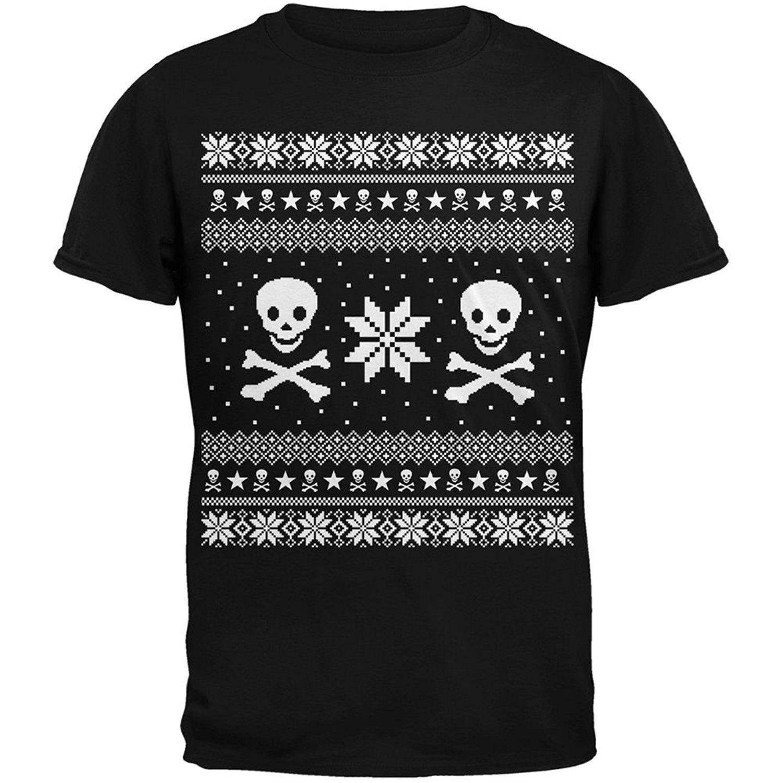 Skull & Crossbones Christmas Shirt Christmas sweaters