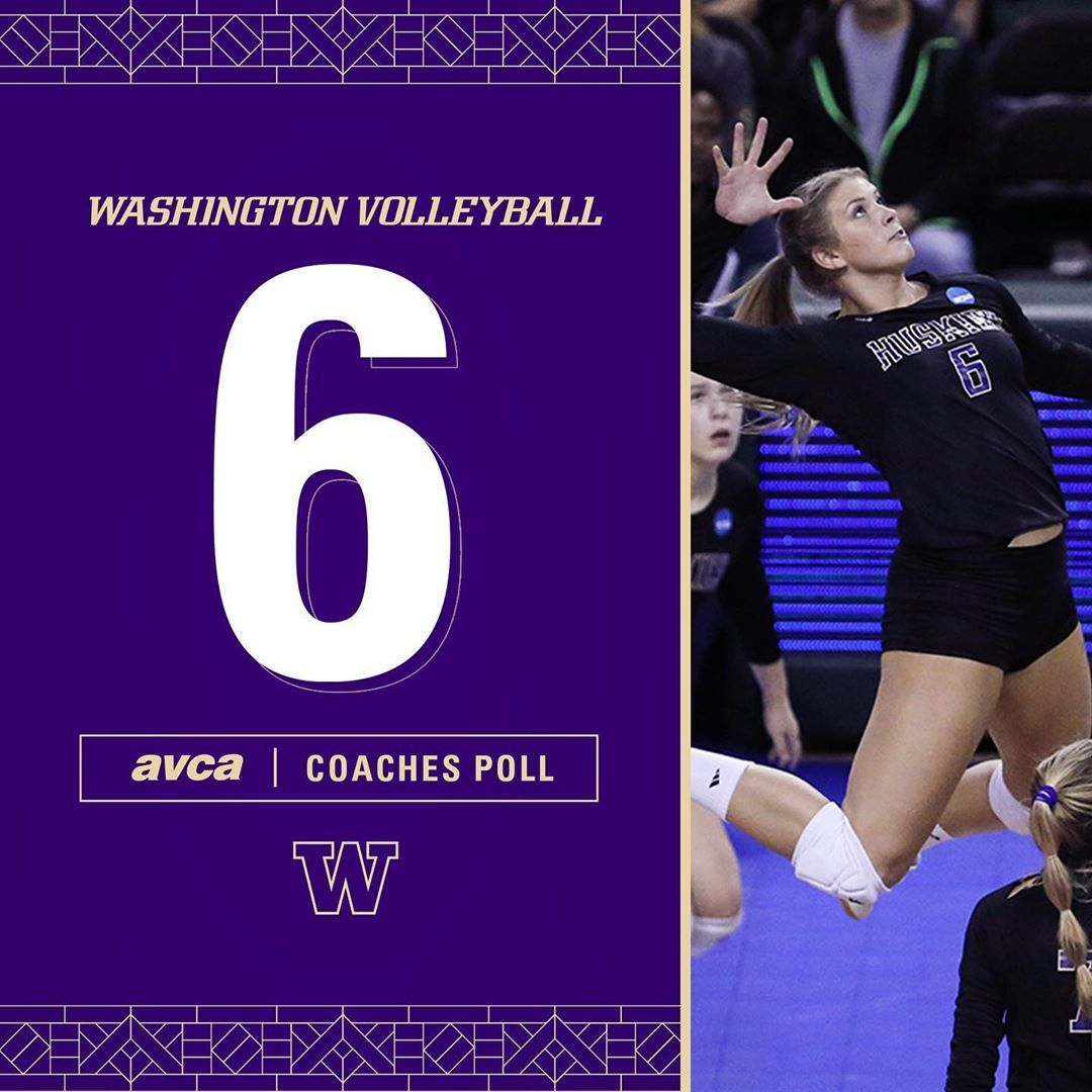 714 Likes 4 Comments Washington Volleyball Uwvolleyball On Instagram Leave It Better Than You Found It After Starting Volleyball Washington Instagram