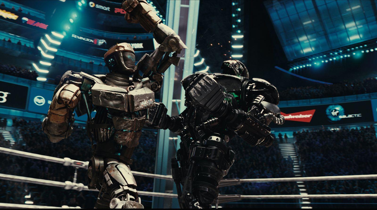 atom vs. zeus - real steel | real steel | pinterest | real steel