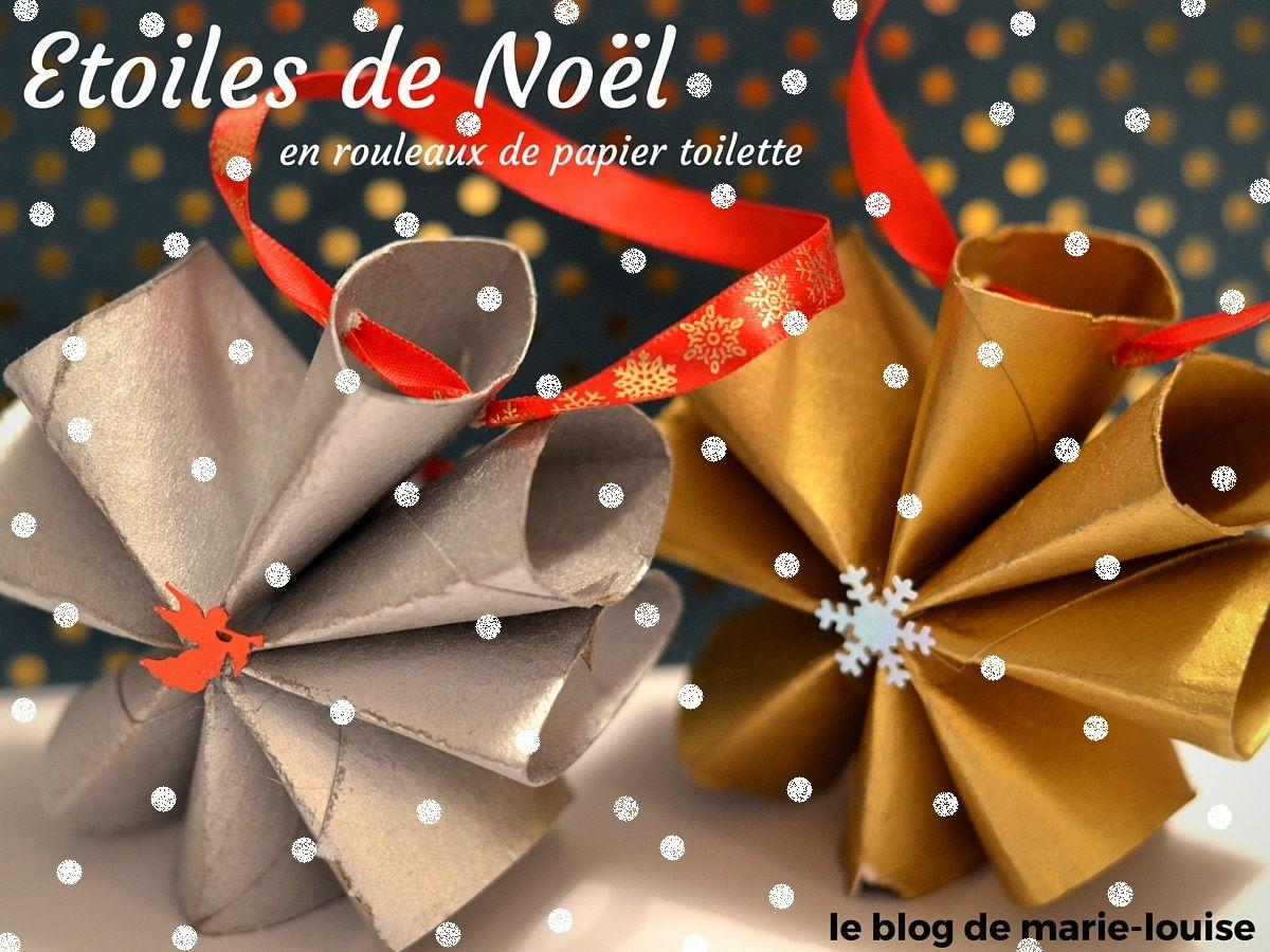Une décoration de Noël tout en rouleau de PQ