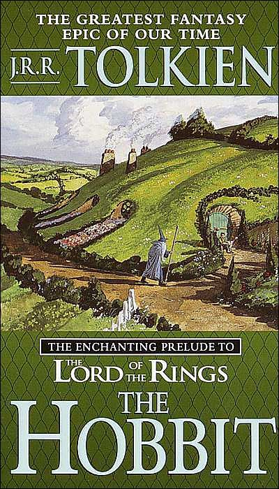 The Hobbit - the book. I haven't seen the movie, but I can guarantee that the book is better. I read it in 5th grade, and I didn't want to put it down. I was reading it one night, and I woke up with it lying on my chest. ^_^'