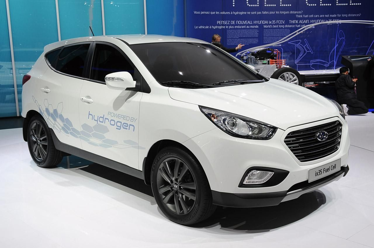 Hyundai ix35 Fuel Cell Fuel cell cars, Fuel cell