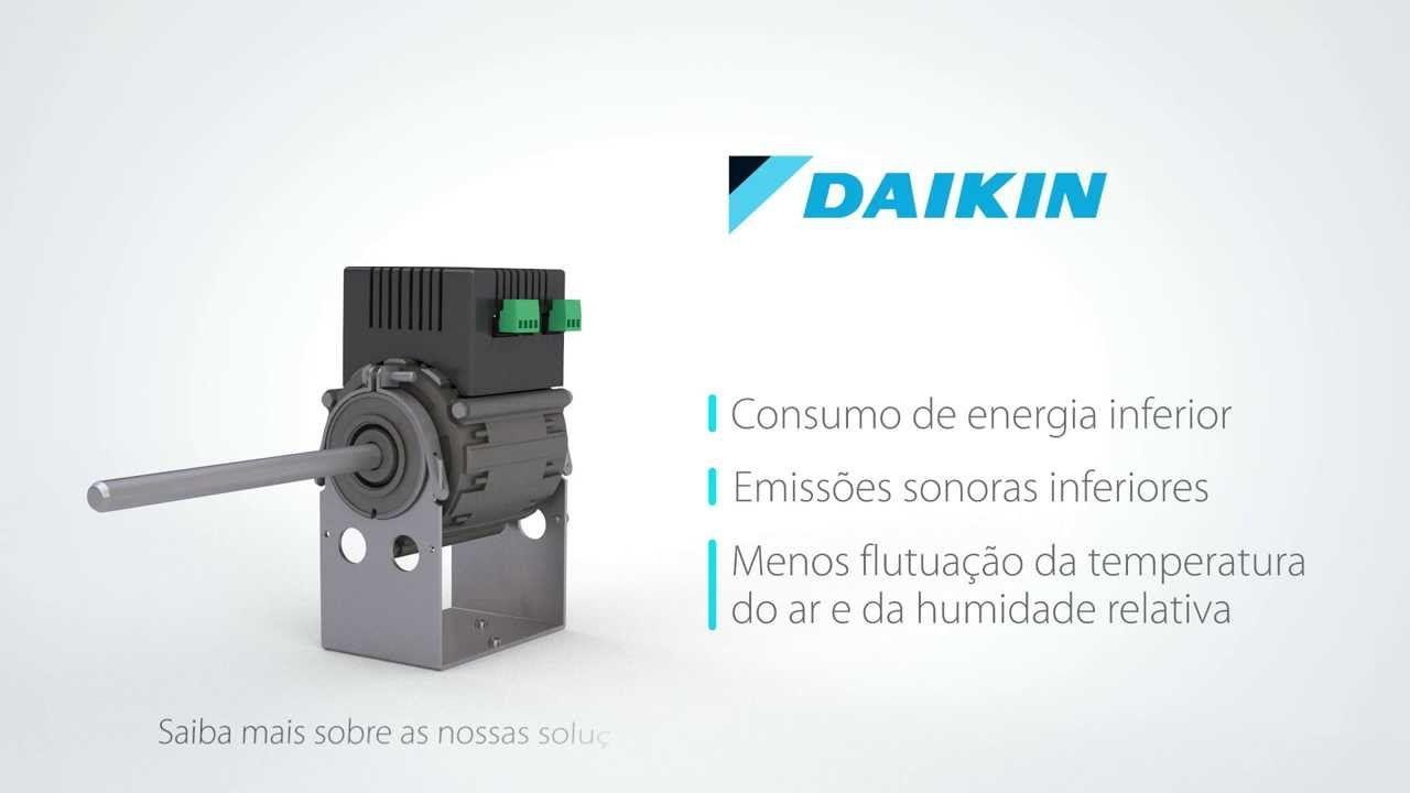 Daikin - Ventilo-Convetores com tecnologia de comutação digital (BLDC)