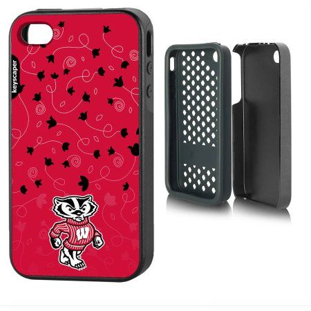 Wisconsin Badgers Apple iPhone 4/4s Rugged Case