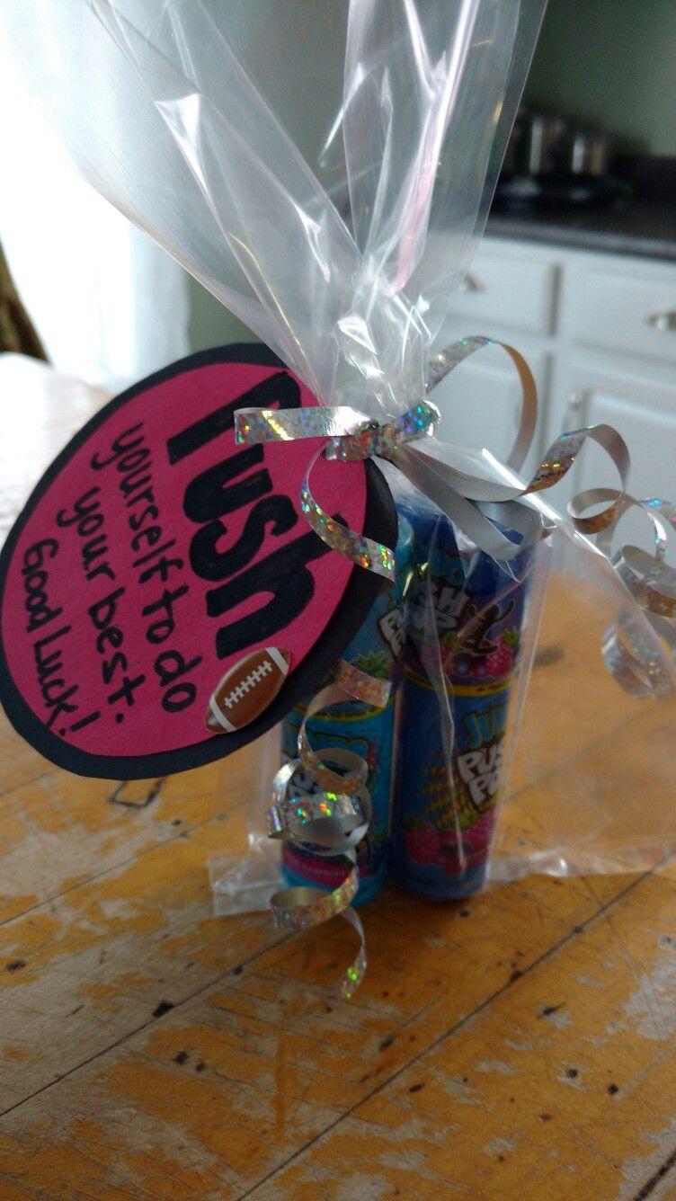 Pre game spirit gift I made Spirit gifts, Gifts, Spirit