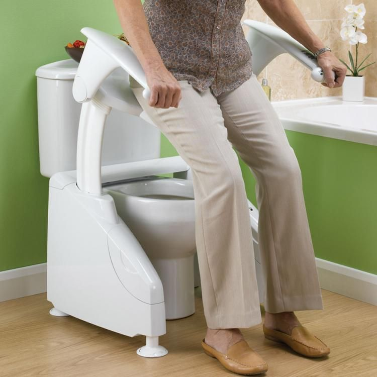 Solo Toilet Lift Helps Elderly On And Off Toilet Elderly Products Handicap Toilet Handicap Accessories
