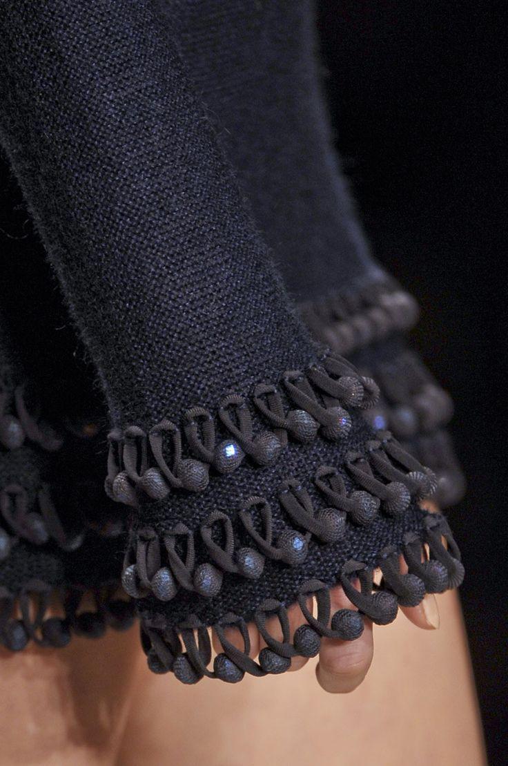 Mark Fast bei der London Fashion Week Herbst 2012 – Details der Start-und Landebahnen #runwaydetails