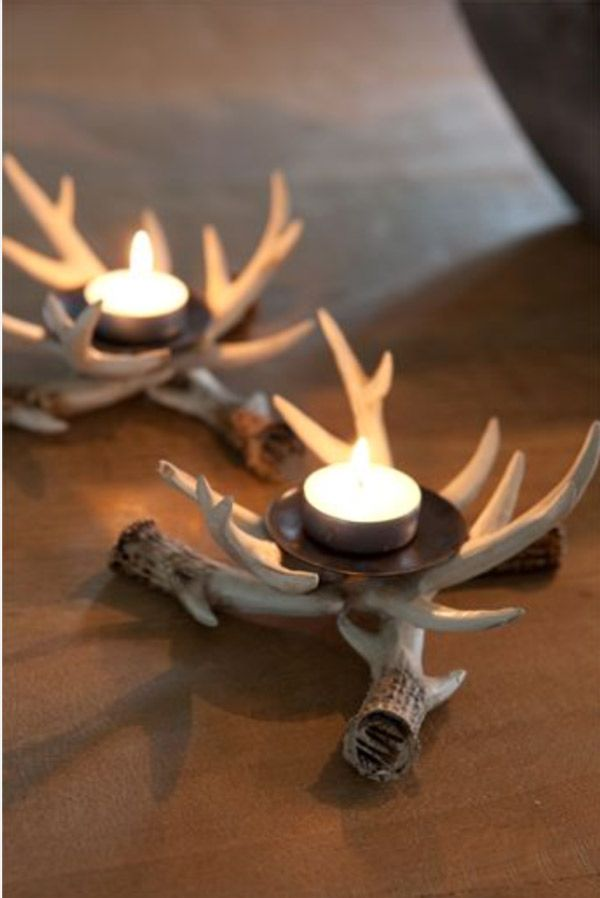 Diy Antler Decor For Your Holiday Table Antlers Decor Diy Antlers Decor Diy Antlers