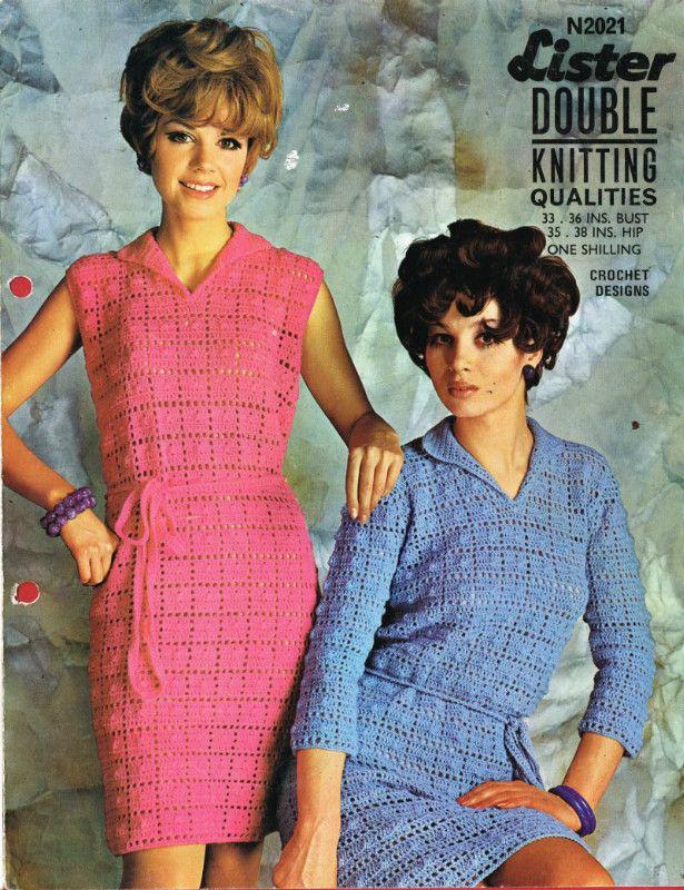 Lee Target 2021 dress ladies vintage crochet pattern