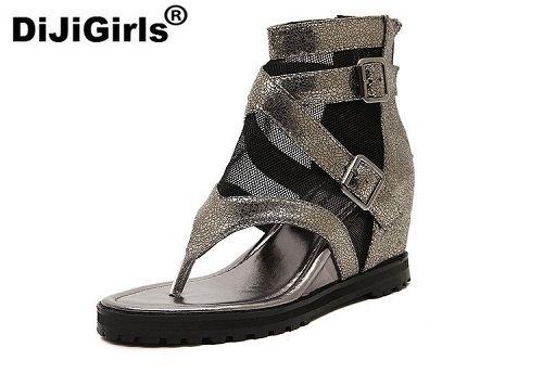 d819f9a07491 Click to Buy    New Women s Pumps Lace Roman Shoes High Heels Sandals
