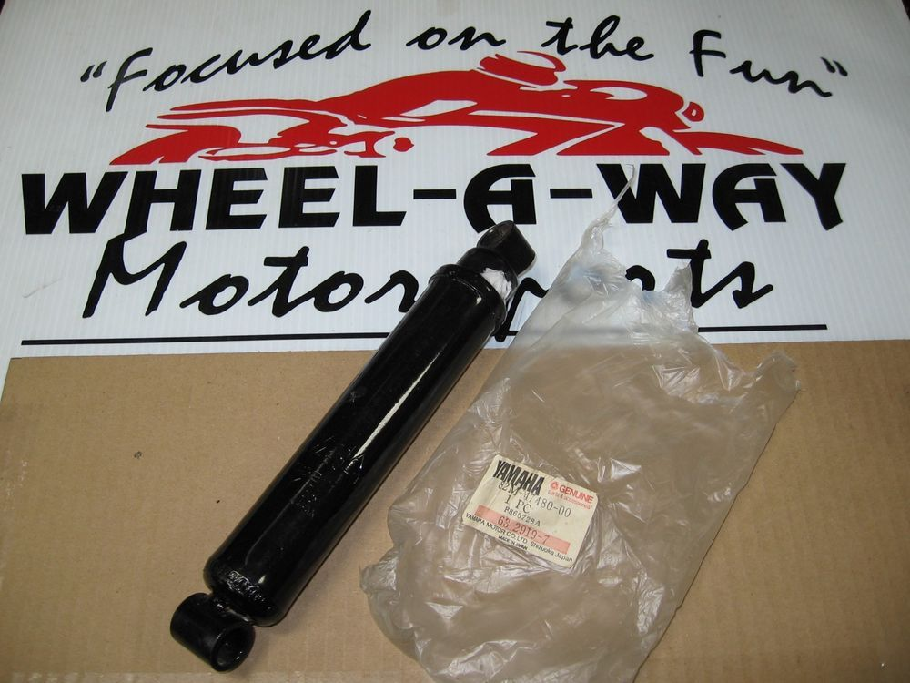 82M 47480 00 OEM YAMAHA SNOWMOBILE REAR SUSPENSION SHOCK 1987 EX570 EXCITER