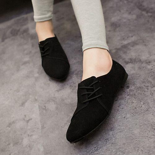 Zapatos grises de verano de punta redonda casual para mujer 7eVJkSvlV