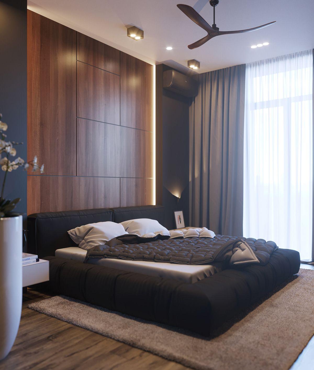 BLANC RESIDENCE on Behance   bedroom in 2019   Bedroom