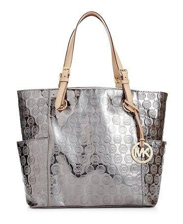 b405a6ed2d14 Silver Mk Handbag | Purses | Michael kors bag, Michael kors sale ...