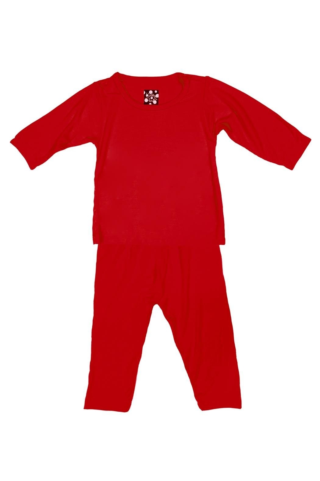2ad662d422 Kickee Pants Crimson Pj-Set Infant - Main Image. Find this Pin and more on  Baby Girl Sleepwear ...
