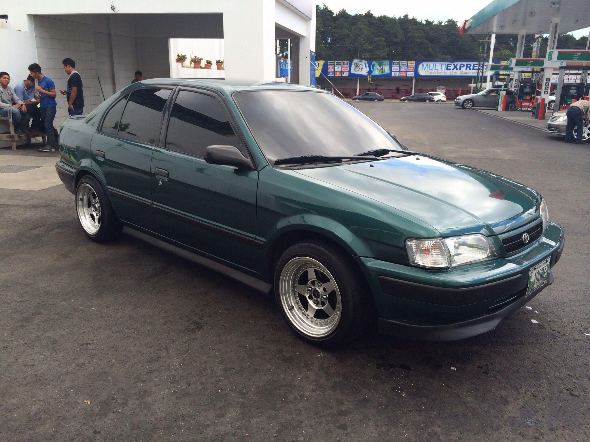 Toyota Tercel 98 Tt Rodas Toyota Tercel Toyota Y Vehicles