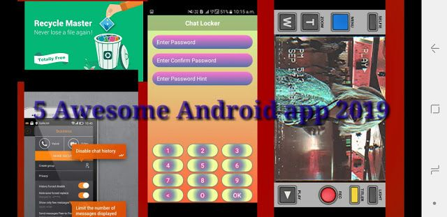 Top 5 Awesome Android applications 2019 1/ Secure
