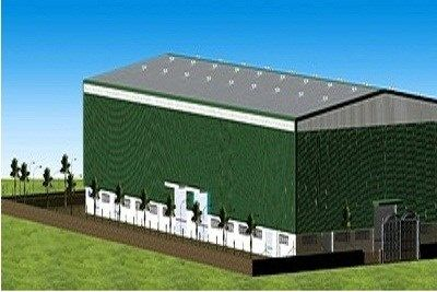 Quality Finish Service Provider Of Industrial Sheds In