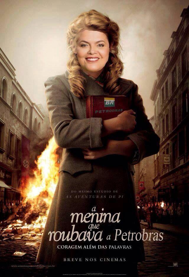 Pobre Dilma A Rapariga Que Roubava Livros A Menina Que Roubava Livros Filmes