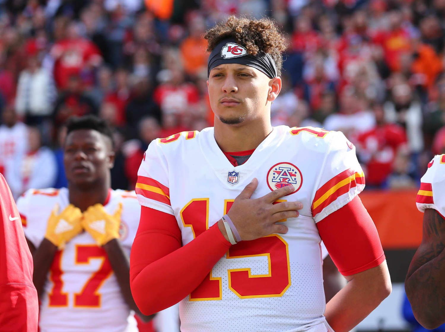 Patrick Mahomes Kansas city chiefs football, Chiefs