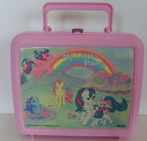 my little pony lunchbox ponies vintage my little. Black Bedroom Furniture Sets. Home Design Ideas
