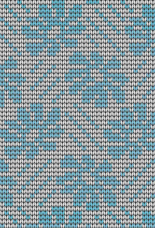 Модная схема вышивки крестом