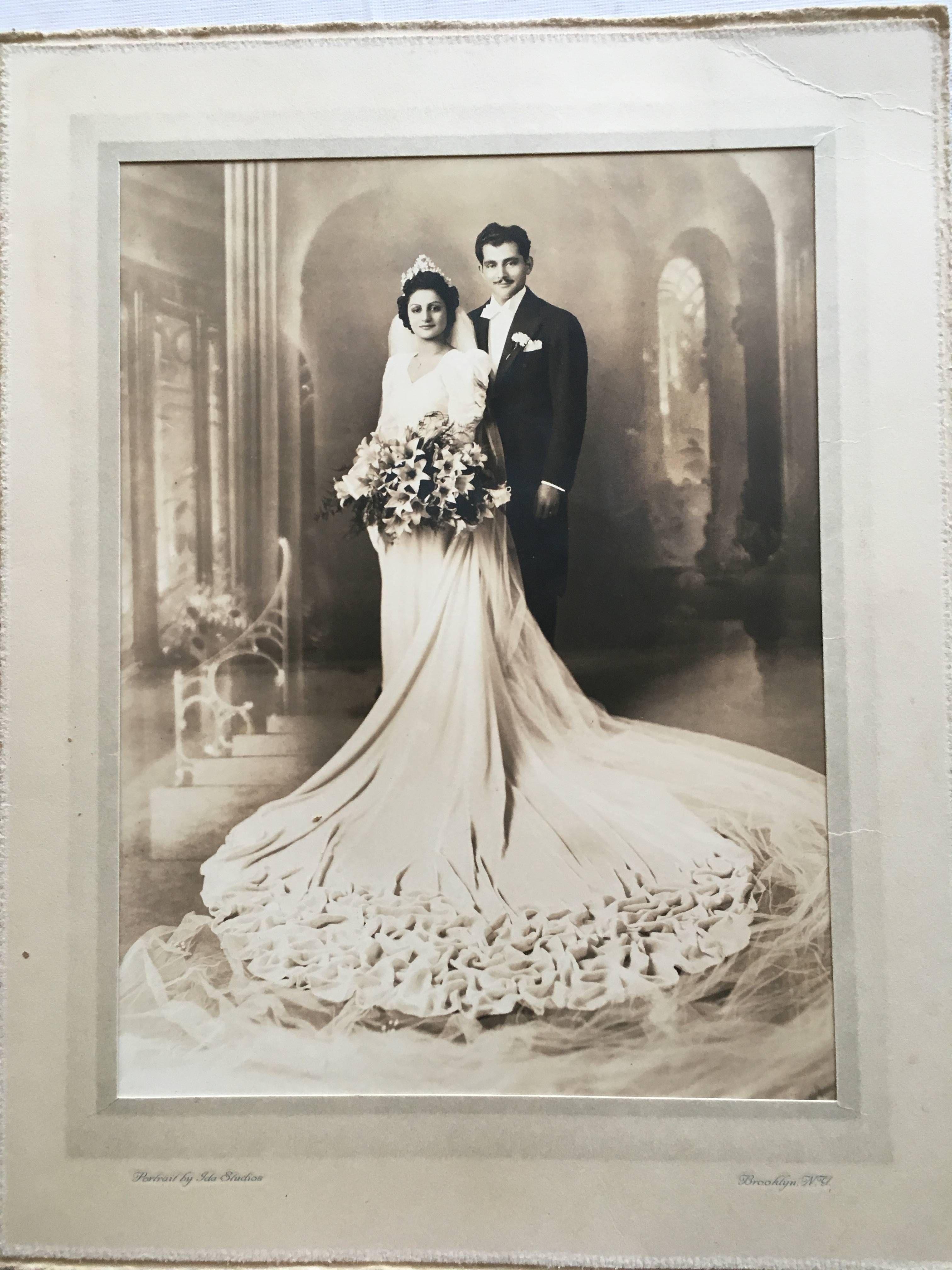 Wedding Portrait, Brooklyn, NY in the 1920s | Vintage Weddings ...
