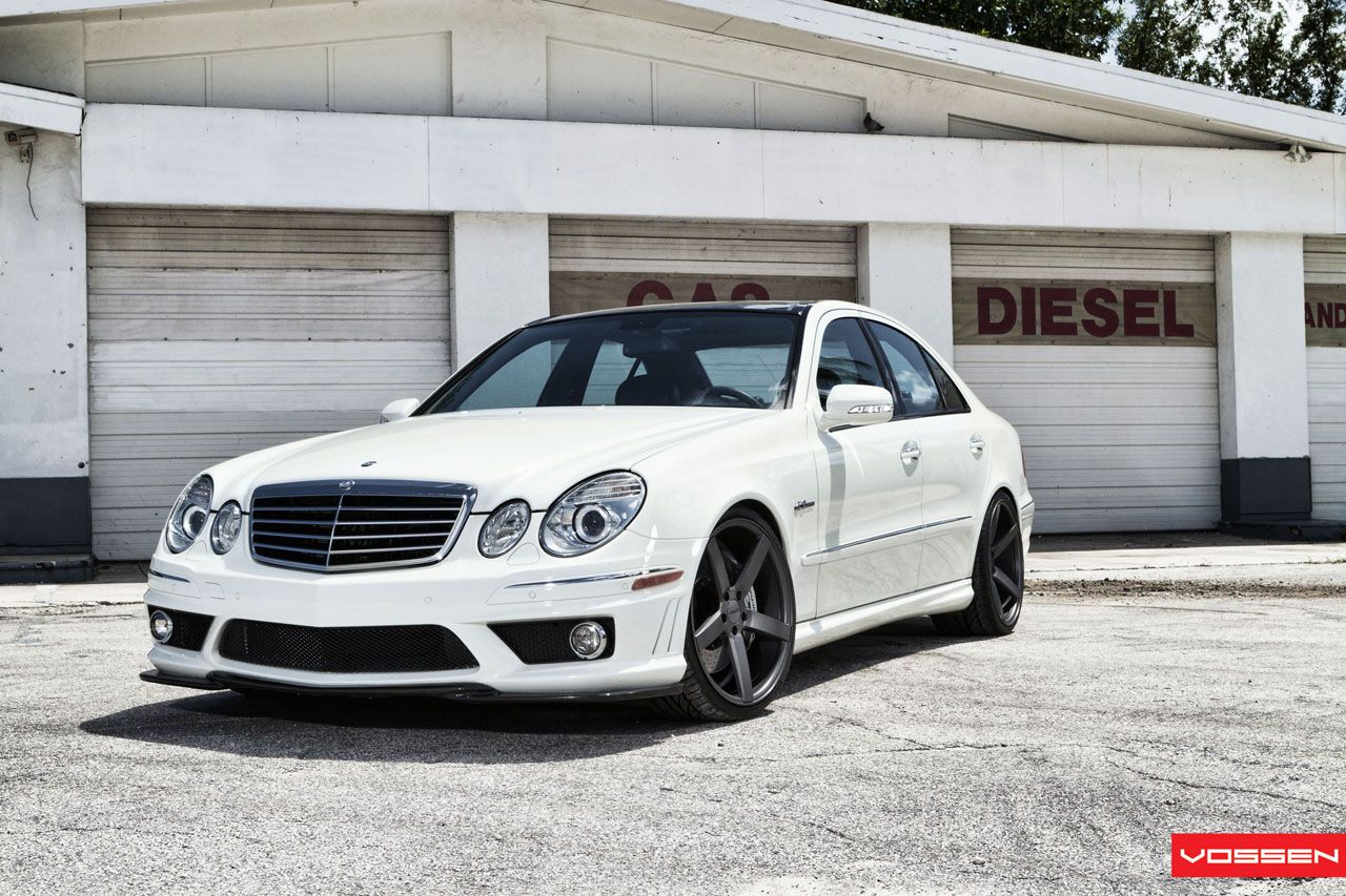 Mercedes Benz E 63 Amg W211 On Vossen Wheels Photo Collection